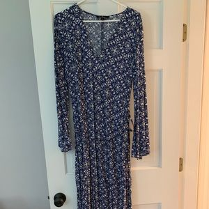 Lulus long maxi dress